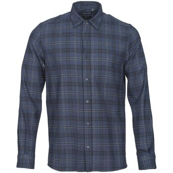 vaatteet Miehet Pitkähihainen paitapusero Antony Morato MMSL00551 FA410123 Sininen