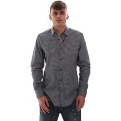 vaatteet Miehet Pitkähihainen paitapusero Antony Morato MMSL00574 FA430158 Sininen