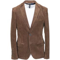 vaatteet Miehet Takit / Bleiserit Antony Morato MMJA00406 FA300011 Ruskea