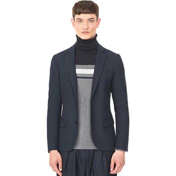 vaatteet Miehet Takit / Bleiserit Antony Morato MMJA00407 FA100130 Sininen