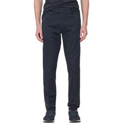vaatteet Miehet Chino-housut / Porkkanahousut Antony Morato MMTR00496 FA800120 Sininen