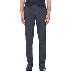 vaatteet Miehet Chino-housut / Porkkanahousut Antony Morato MMTR00496 FA850205 Sininen