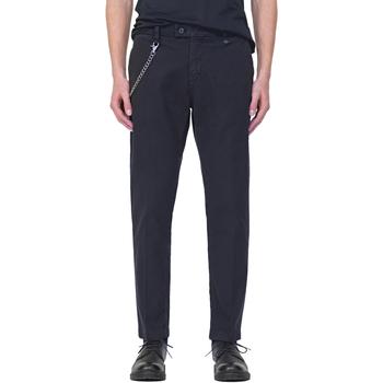 vaatteet Miehet Chino-housut / Porkkanahousut Antony Morato MMTR00526 FA800094 Sininen