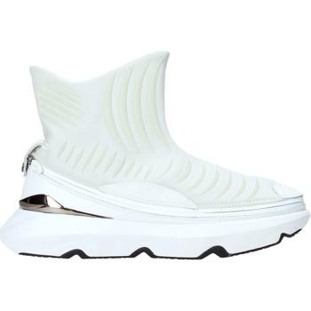 kengät Miehet Korkeavartiset tennarit Ea7 Emporio Armani X8Z019 XK121 Valkoinen