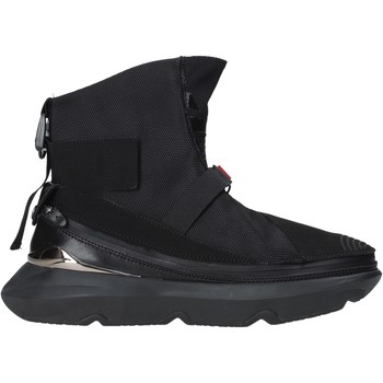 kengät Miehet Korkeavartiset tennarit Ea7 Emporio Armani X8Z020 XK123 Musta