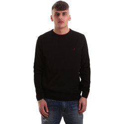 vaatteet Miehet Neulepusero Navigare NV10217 30 Musta