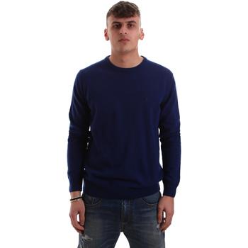 vaatteet Miehet Neulepusero Navigare NV10260 30 Sininen