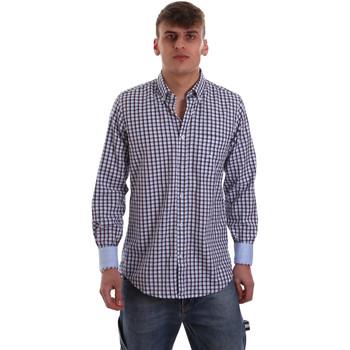 vaatteet Miehet Pitkähihainen paitapusero Navigare NV91072 BD Sininen