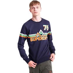 vaatteet Miehet Svetari Superdry M2000012B Sininen