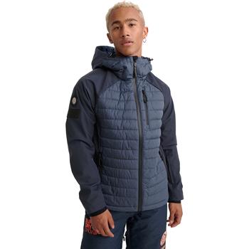 vaatteet Miehet Takit Superdry MS1019YR Sininen