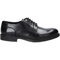 kengät Miehet Derby-kengät Rogers 6500_4 Musta