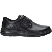 kengät Miehet Mokkasiinit Enval 4224100 Musta