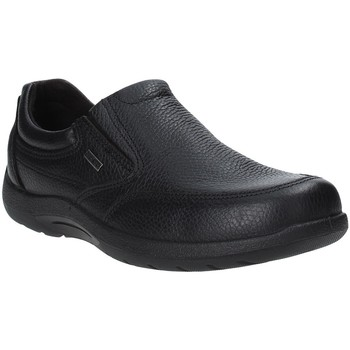 kengät Miehet Mokkasiinit Enval 4233400 Musta