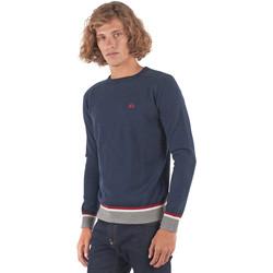 vaatteet Miehet Neulepusero La Martina OMS021 YW025 Sininen