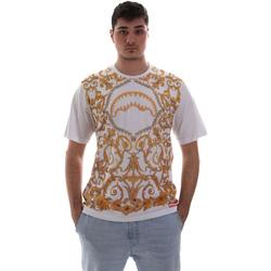 vaatteet Miehet Lyhythihainen t-paita Sprayground SP019S Valkoinen