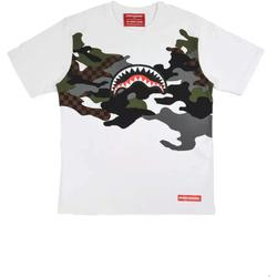 vaatteet Miehet Lyhythihainen t-paita Sprayground SP022S Valkoinen