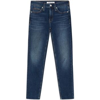 vaatteet Naiset Skinny-farkut Calvin Klein Jeans J20J211886 Sininen