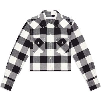 vaatteet Naiset Paitapusero / Kauluspaita Calvin Klein Jeans J20J212123 Musta