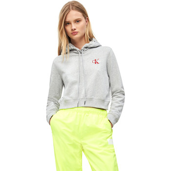 vaatteet Naiset Svetari Calvin Klein Jeans J20J210601 Harmaa