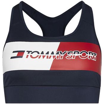 vaatteet Naiset Urheiluliivit Tommy Hilfiger S10S100299 Sininen