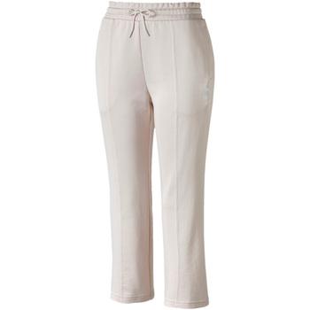 vaatteet Naiset Verryttelyhousut Puma 595522 Vaaleanpunainen