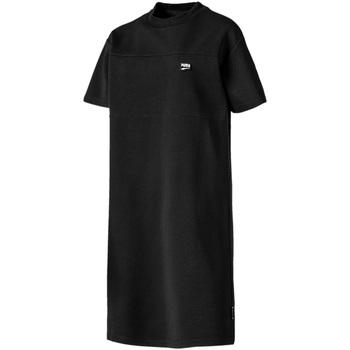 vaatteet Naiset Lyhyt mekko Puma 595693 Musta
