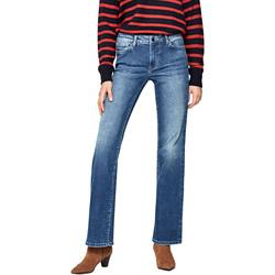 vaatteet Naiset Slim-farkut Pepe jeans PL202229GS02 Sininen