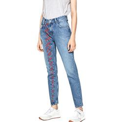 vaatteet Naiset Slim-farkut Pepe jeans PL203435R Sininen