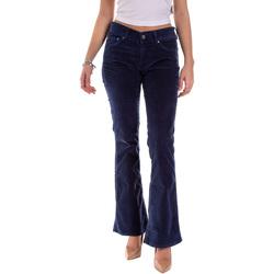 vaatteet Naiset 5-taskuiset housut Pepe jeans PL211343YD52 Sininen