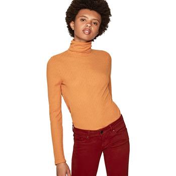 vaatteet Naiset Neulepusero Pepe jeans PL504278 Keltainen