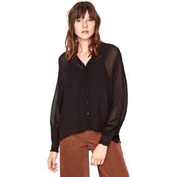 vaatteet Naiset Paitapusero / Kauluspaita Pepe jeans PL303538 Musta