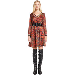 vaatteet Naiset Lyhyt mekko Denny Rose 921ND15008 Punainen