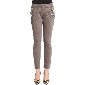 vaatteet Naiset Chino-housut / Porkkanahousut Denny Rose 921ND25003 Harmaa