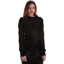vaatteet Naiset Topit / Puserot Denny Rose 921ND45001 Musta