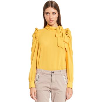 vaatteet Naiset Topit / Puserot Denny Rose 921ND45001 Keltainen