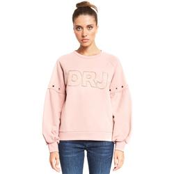 vaatteet Naiset Svetari Denny Rose 921ND64018 Vaaleanpunainen