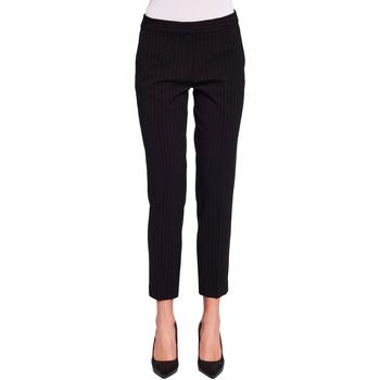 vaatteet Naiset Chino-housut / Porkkanahousut Gaudi 921FD25020 Musta
