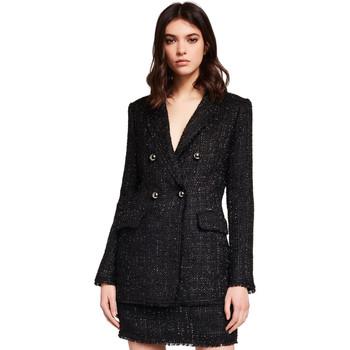 vaatteet Naiset Takit / Bleiserit Gaudi 921FD35029 Musta