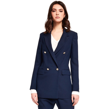 vaatteet Naiset Takit / Bleiserit Gaudi 921FD35035 Sininen