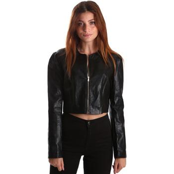 vaatteet Naiset Takit Gaudi 921FD38003 Musta