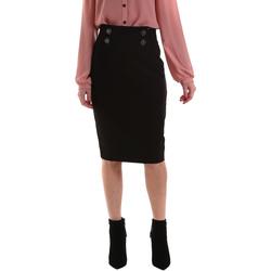 vaatteet Naiset Hame Gaudi 921FD75001 Musta