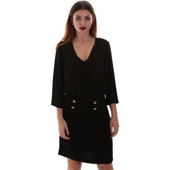 vaatteet Naiset Lyhyt mekko Gaudi 921FD15037 Musta
