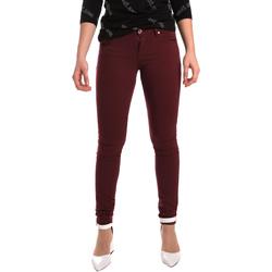 vaatteet Naiset Skinny-farkut Gaudi 921BD25002 Punainen