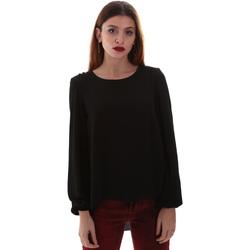 vaatteet Naiset Paitapusero / Kauluspaita Gaudi 921BD45023 Musta