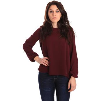 vaatteet Naiset Paitapusero / Kauluspaita Gaudi 921BD45023 Punainen