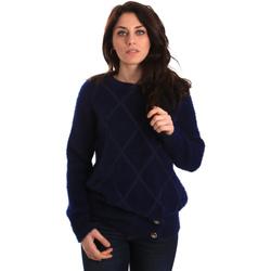 vaatteet Naiset Neulepusero Gaudi 921BD53015 Sininen
