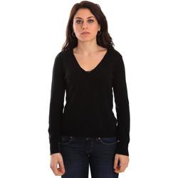 vaatteet Naiset Neulepusero Gaudi 921BD53033 Musta