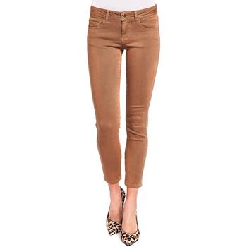 vaatteet Naiset 5-taskuiset housut Gaudi 921BD25015 Ruskea