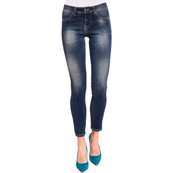 vaatteet Naiset Slim-farkut Gaudi 921BD26008 Sininen