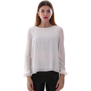 vaatteet Naiset Paitapusero / Kauluspaita Gaudi 921BD45023 Valkoinen